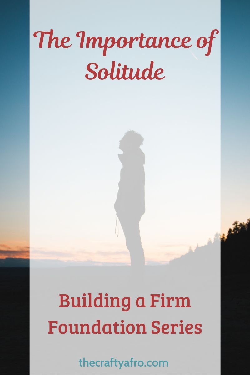 What is solitude? How can this spiritual discipline help grow your faith and draw you closer to Christ?