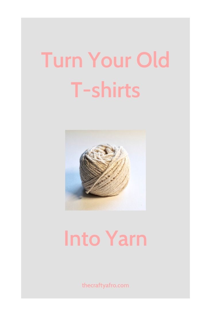 Learn how to turn your old t-shirt into yarn.