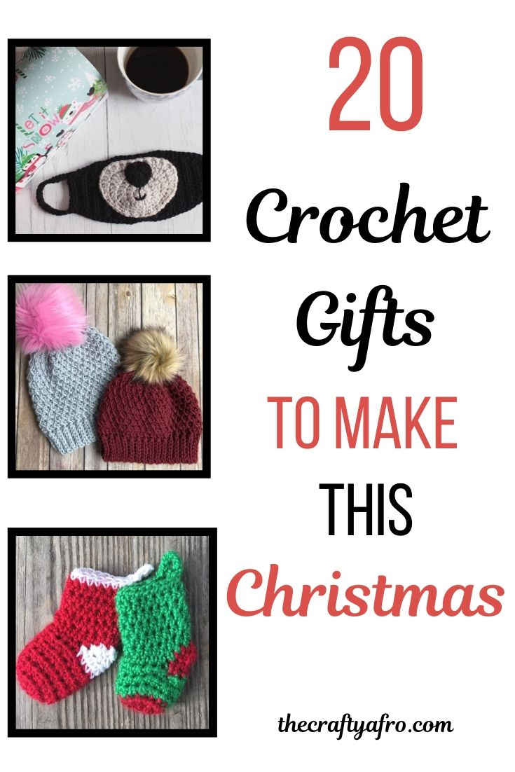 21 Crochet Gift Ideas For Christmas The Crafty Afro