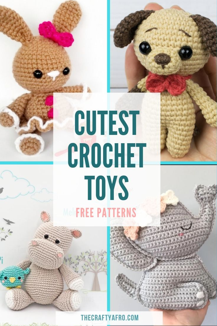 Free Amigurumi Patterns and Crochet Animals | AllFreeCrochet.com | 1102x735
