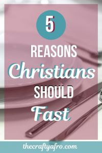 Is fasting still a relevant practice for modern day Christians? Read on to discover the 5 reason why all Christians should be fasting.