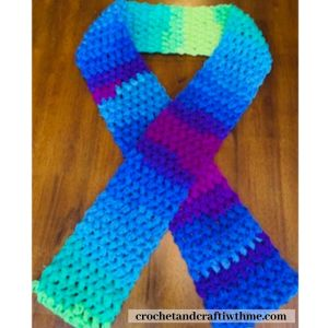 Puffy Crochet Scarf