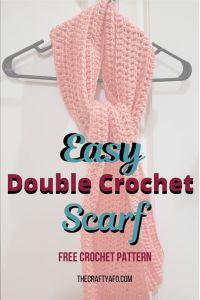 Free double crochet over-sized scarf pattern. Perfect for beginners.  #crochet #freecrochetpattern #crochetscarf