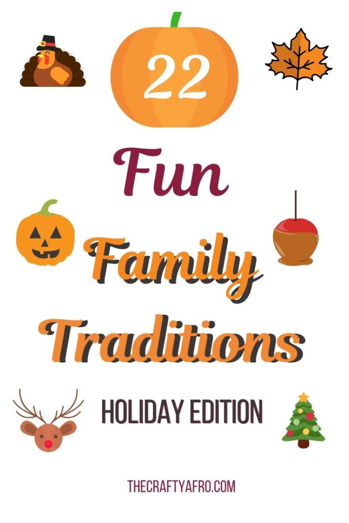 Having a family tradition is a great way to bring your family closer together. Check out these 22 fun family holiday traditions that you can start with your family this year.