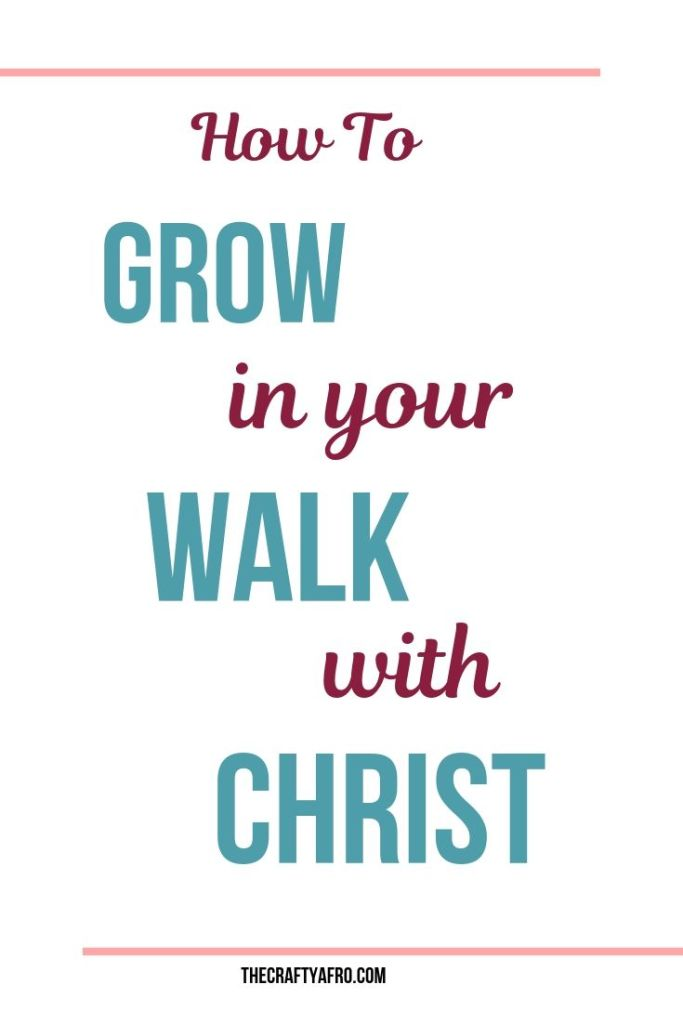 Do you want to grow in your walk with Christ? Use these four simple steps to develop a daily routine to help you grow in your faith.