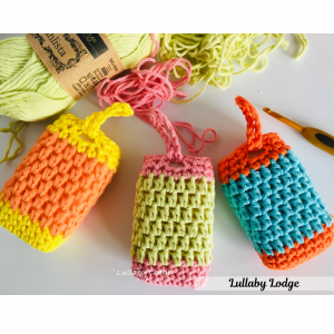 crochet soap sack